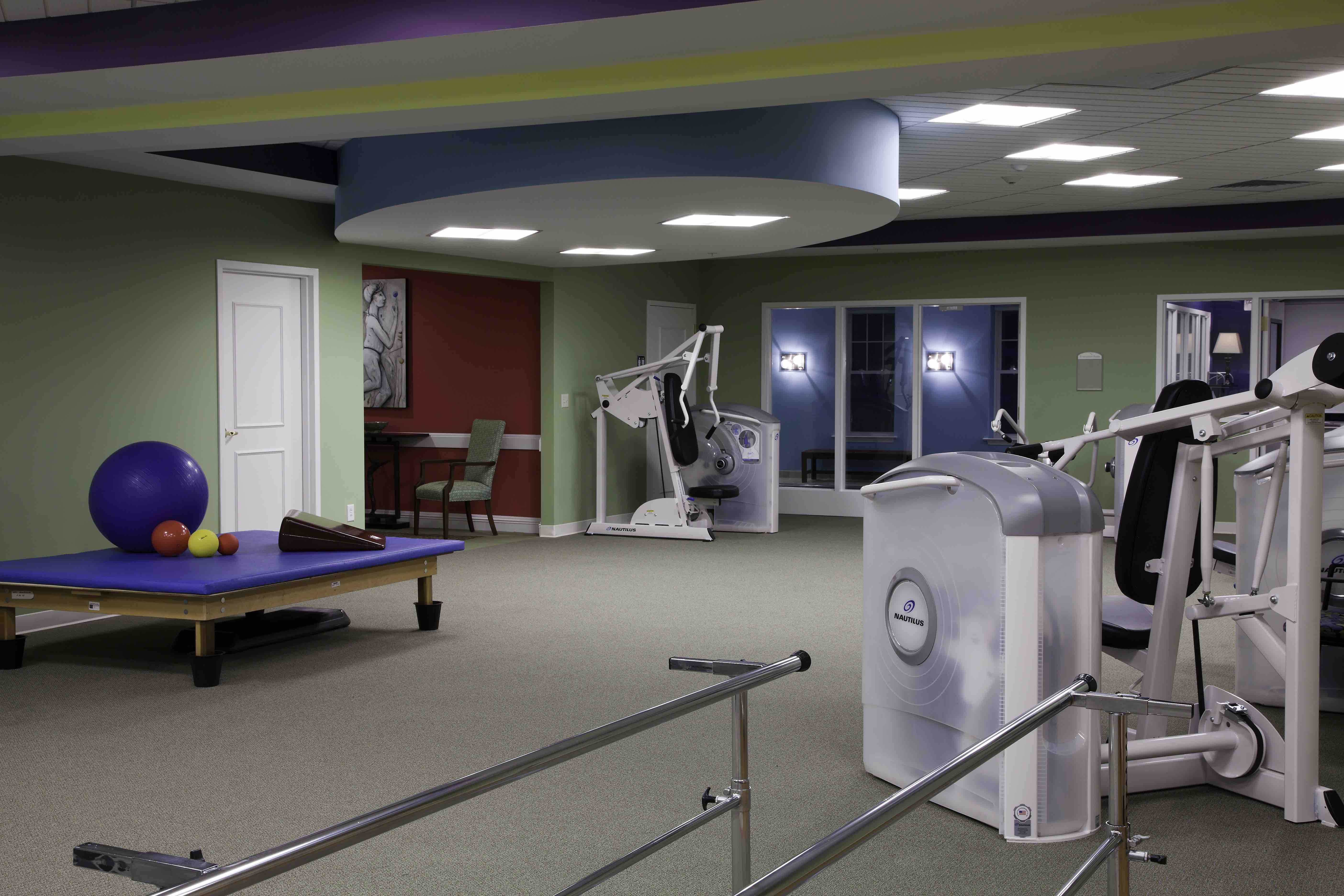 Asbury Place Clingman Therapy Center Equipment